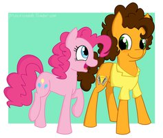 Cheese and Pinkie Pie