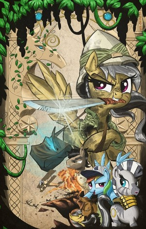 Daring Do [Colored]