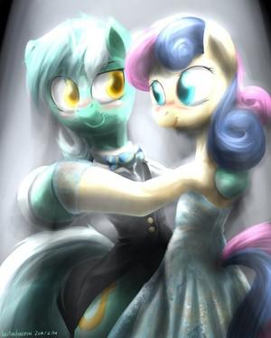 Lyra and Bon Bon