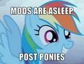 Post Ponies