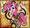 Steampunk Ponies - PinkiePie