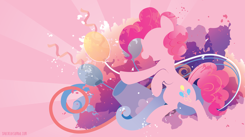 my little pony friendship is magic wallpaper entitled Pinkie Pie wallpaper