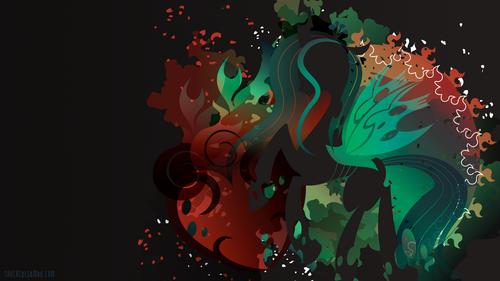 My Little ngựa con, ngựa, pony - Friendship is Magic hình nền called Queen Chrysalis hình nền