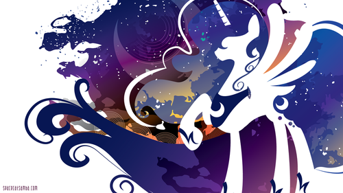 my little pony friendship is magic wallpaper called Princess Luna wallpaper