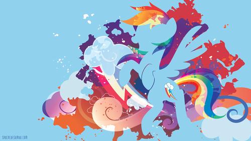 My Little kuda, kuda kecil Friendship is Magic kertas dinding called pelangi, rainbow Dash kertas dinding