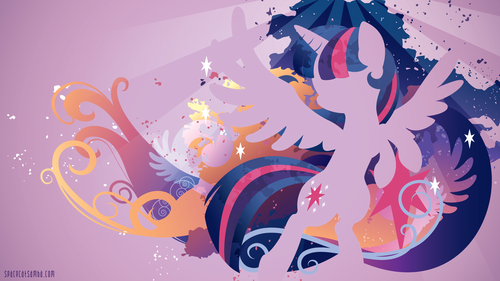 My Little kuda, kuda kecil Friendship is Magic kertas dinding probably with Anime titled Twilight Sparkle kertas dinding