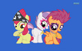 Cutie Mark Crusaders Wallpaper - my-little-pony-friendship-is-magic wallpaper
