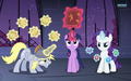 Derpy, Twilight, and Rarity Wallpaper  - my-little-pony-friendship-is-magic wallpaper