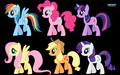 Mane 6 Wallpaper - my-little-pony-friendship-is-magic wallpaper