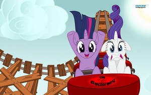 Twilight and Rarity Обои
