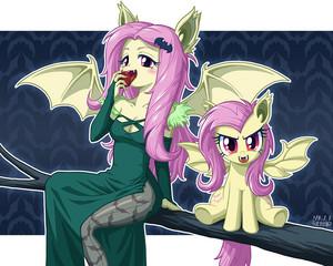 vampire fluttershy