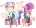 Lyra and Bon Bon - my-little-pony-friendship-is-magic photo