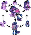 twilight, zoe, Stocking fusion