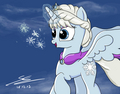 frozen My Little poni, pony