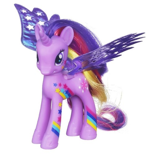 my little pony friendship is magic wallpaper called Twilight rainbowfied toy(now in stores)