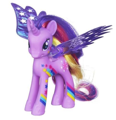माइ लिट्ल पोनी फ्रेंडशिप ईज़ मॅजिक वॉलपेपर entitled Twilight rainbowfied toy(now in stores)
