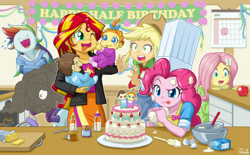 My Little pony - Freundschaft ist Magie Hintergrund probably with Anime entitled My Little Pony: Equestria Girls