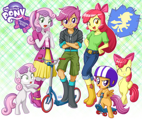 My Little Pony Friendship is Magic wallpaper containing anime titled My Little Pony: Equestria Girls