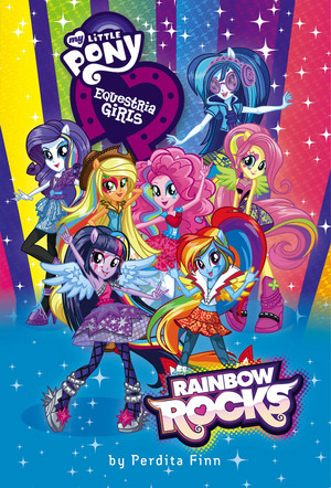 regenboog Rocks Mlp in a group!