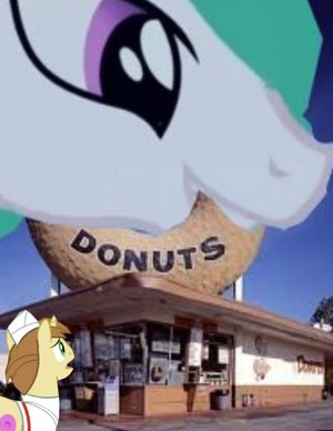 poney joe pays up his taxes to princess celestia