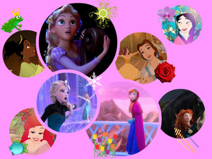 My superiore, in alto 8 preferito Disney Princesses
