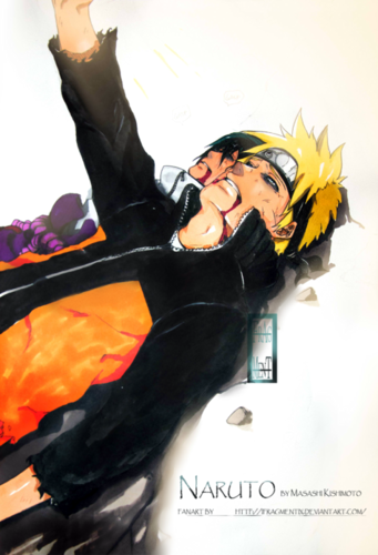 Naruto - Shippuden wallpaper called *Sasuke / Naruto's death*
