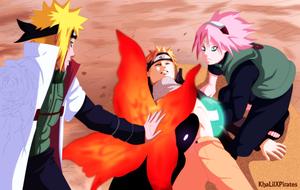 *Minato*Kurama*Naruto*Sakura*