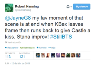 Twitt about Stana in Still(5x21)