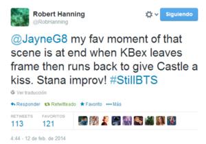 Twitt about Stana in Still(5x21)