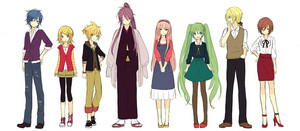 Vocaloid characters