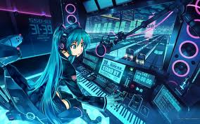 muiki and her soung booth