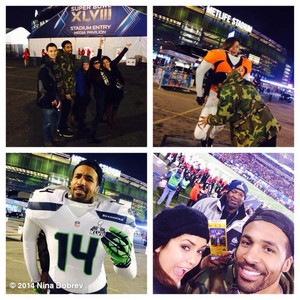 Super Bowl, New Jersey - February 2014