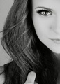 Nina black and white - nina-dobrev photo