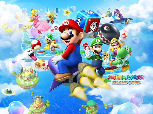 Nintendo wallpaper called Mario Party Island Tour - Wallpaper