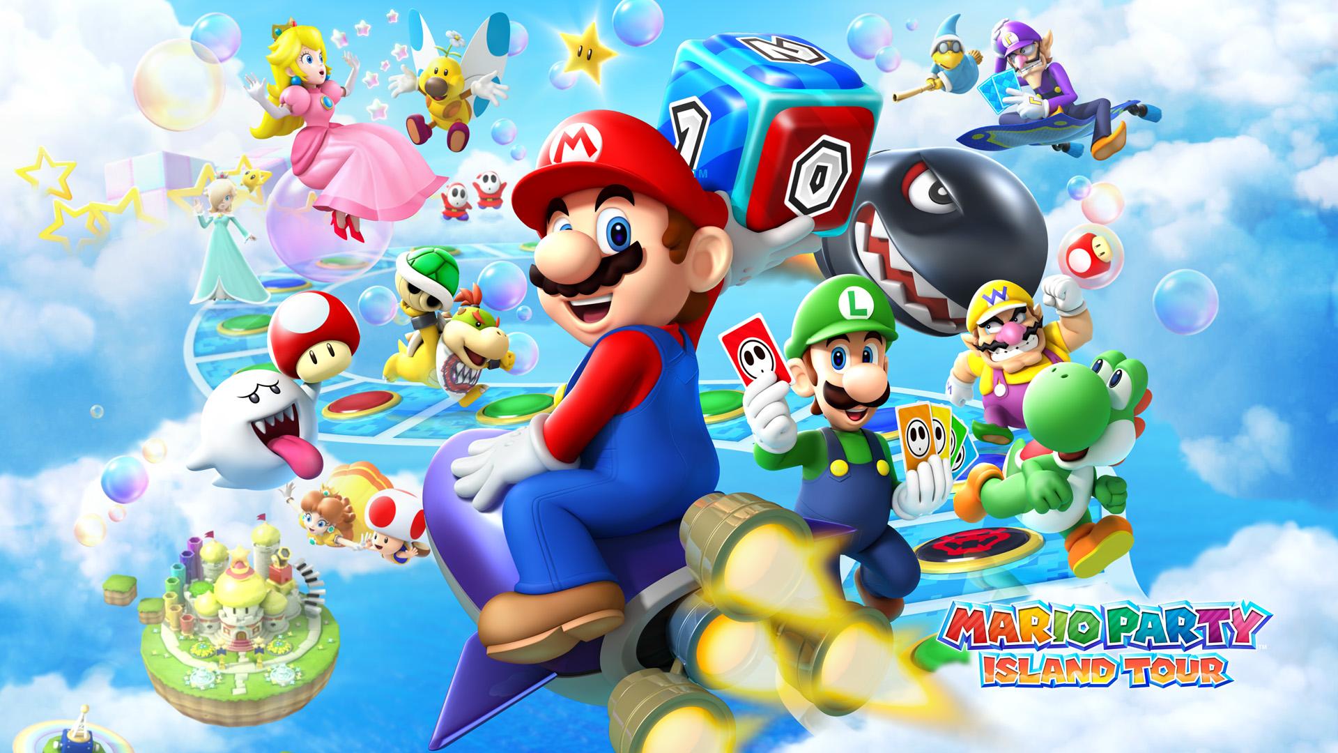 Mario Party Island Tour - پیپر وال