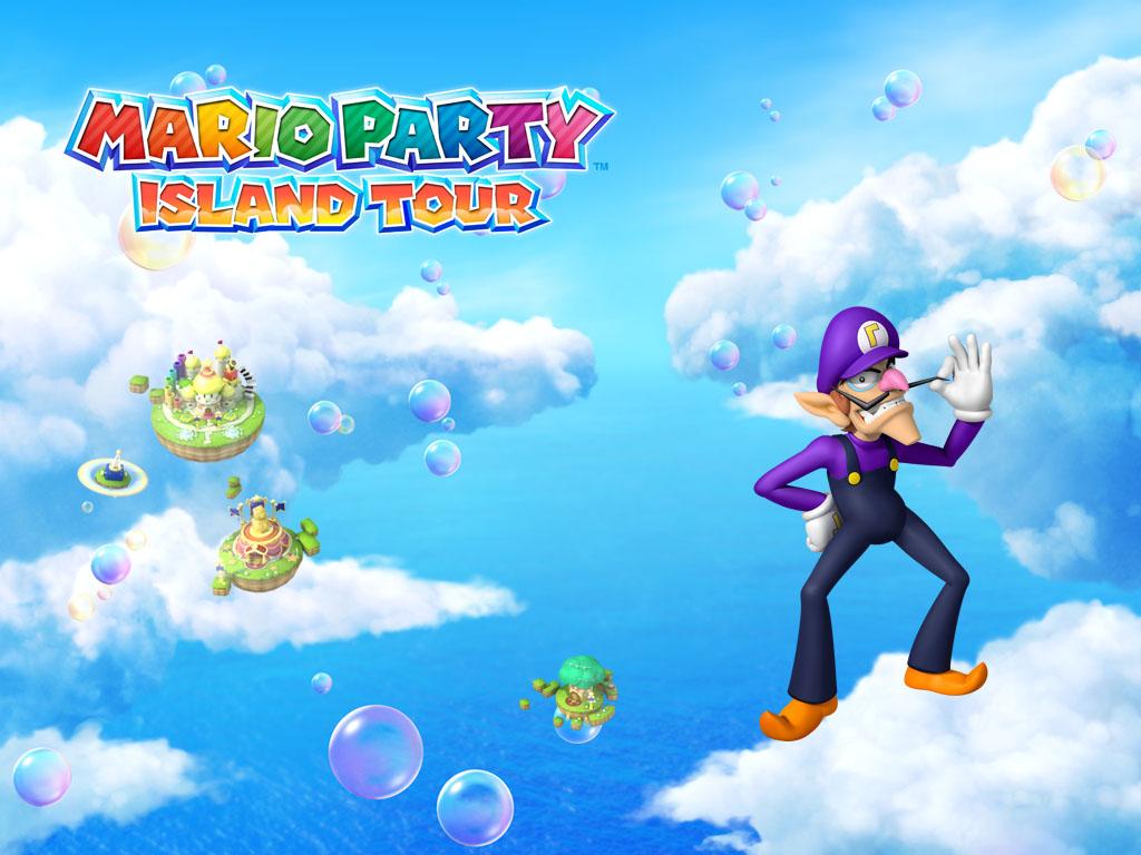 Mario Party Island Tour - Hintergrund