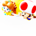 Princess Daisy and Toad - nintendo icon
