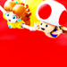 Daisy and Toad - nintendo icon