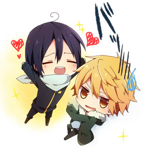 Chibi Yato and Yukine