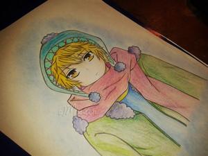 yukine drawing