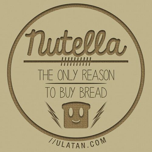 Nutella Hintergrund titled nutella-----------♥