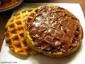 waffles nutella--------------------