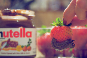 strawberry nutella------------♥