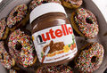 nutella donuts---------------♥