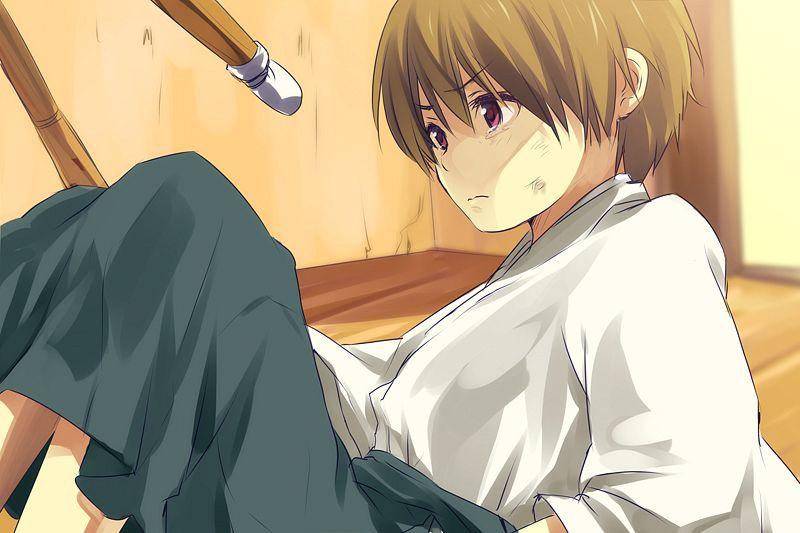 Anime Kid Alone