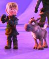 Little Sven and Kristoff