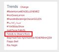 Olicity trending WW (again)