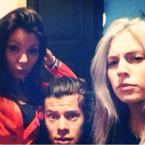 Anne, Harry and Gemma