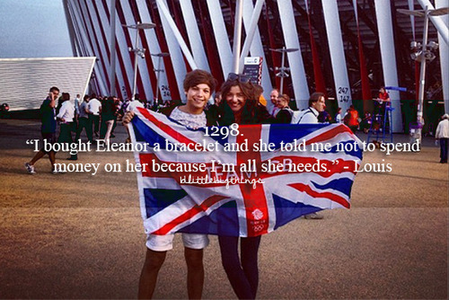 One Direction wallpaper entitled Lou and Eleanor