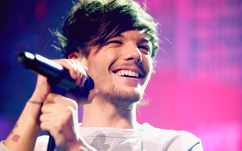 One Direction fond d'écran with a concert entitled Louis Tomlinson